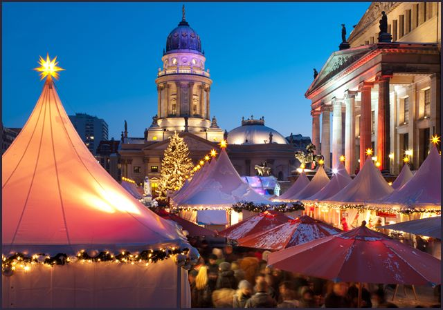 Mercados de Natal germânicos