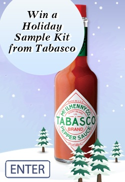 #Win a #Holiday #Sample Kit from #Tabasco    http://womenfreebies.ca/contest/tobasco-sample-kit/