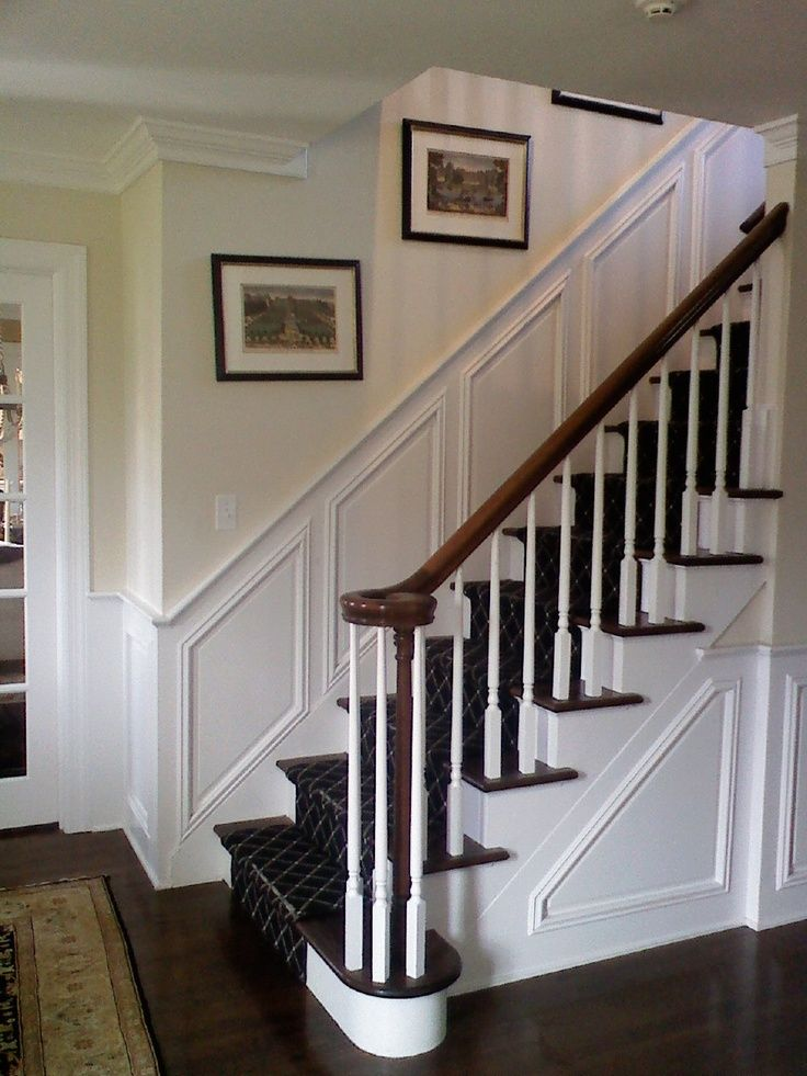 Image result for diy board and batten stairs mdf | White ...