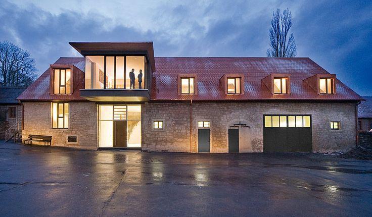 Von der Scheune zum Architekturbüro