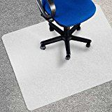 """#ad Office Marshal Eco Office Chair Mat - 36"""" x 48"""", Multiple Sizes - Carpet Floor Protection - BPA Free 