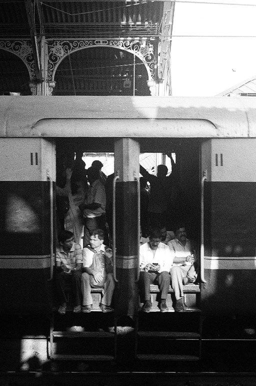 Mumbai Passengers by Xavier Bartholomew Scanlon