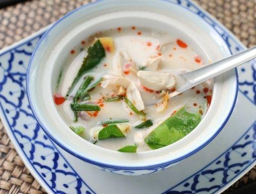 Tom Kha Kai Thailändsk kycklingsoppa
