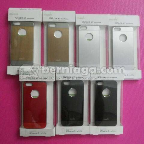 Moshi IGlaze XT Metal Hard Case Cover For IPhone 5 - Fast respon 08111279777