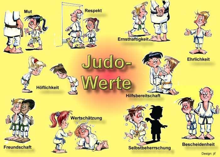 Die 10 Werte des Judo