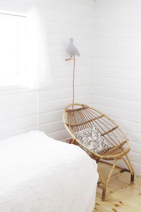 Rattan chair. From the blog Varpunen.