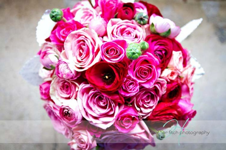 Pink Wedding Bouquet Wedding Flowers By Sophisticated Floral Designs Portland OR