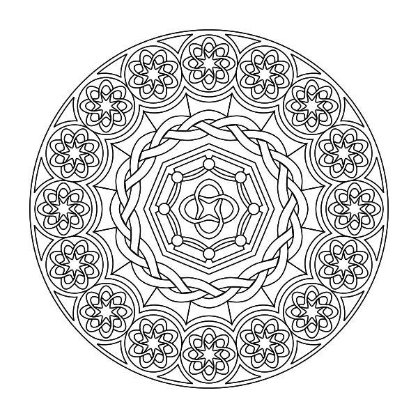 1872 best Mandalas/Zentangles images on Pinterest   Free coloring ...