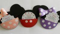Miniatura de Invitaciones De Cumpleaños De Minnie Para Descargar Gratis 24
