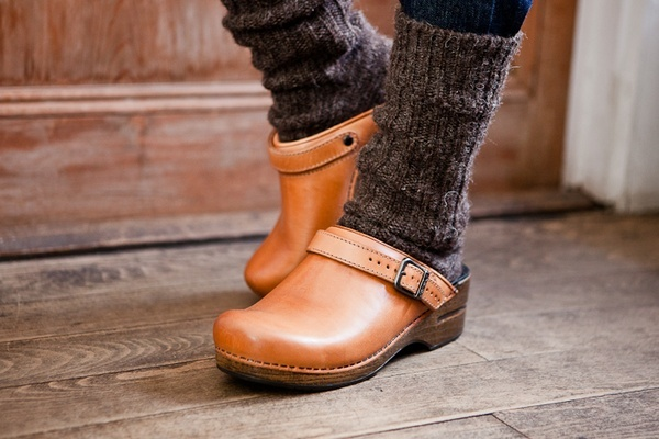 Clogs and chunky socks. Yes yes yes!