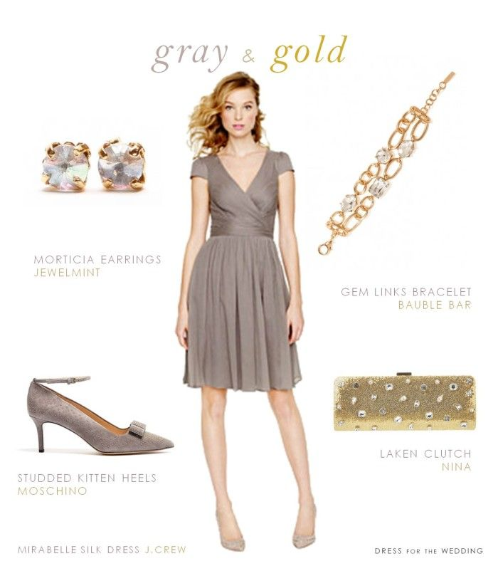 125 best Grey and Gold Wedding images on Pinterest