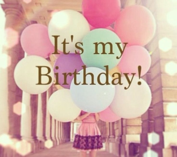 It's my birthday today!!! (July 6th) :)
