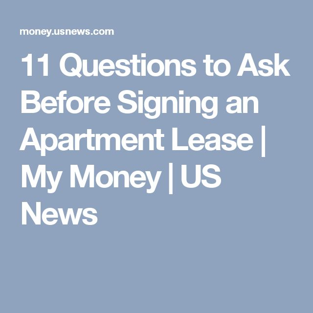 25+ Best Ideas About Apartment Lease On Pinterest
