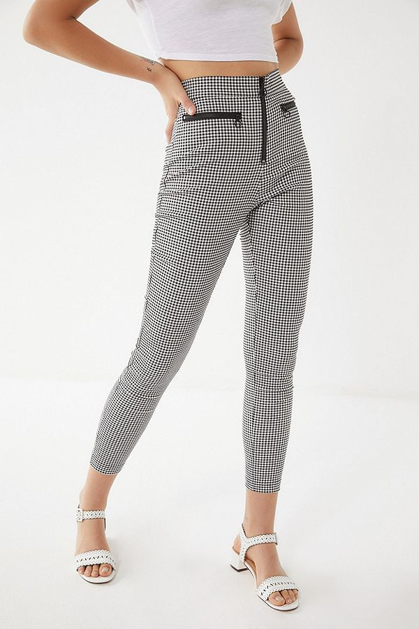 fc292efaa1b UO Susie High-Rise Zip-Front Pant