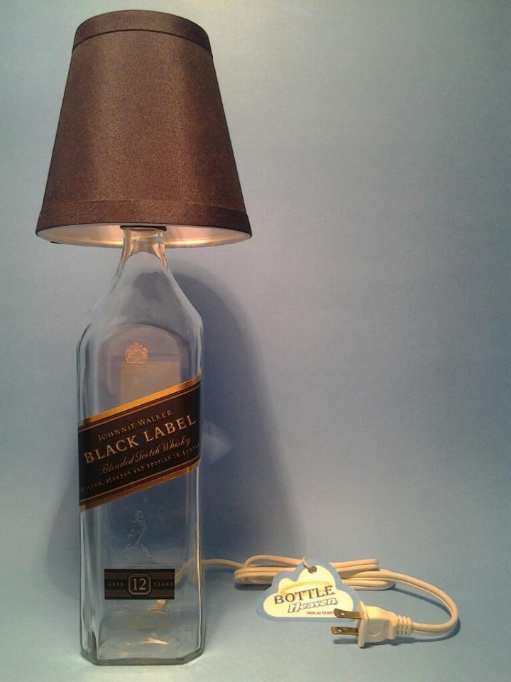 ( Johnnie Walker Black ) Table Lamp Black