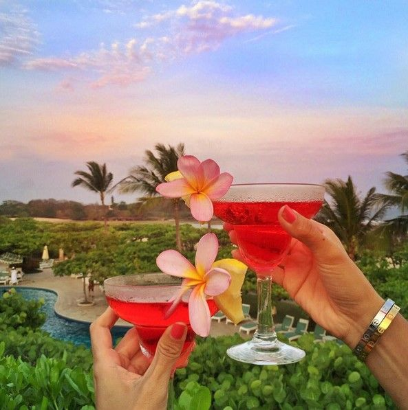 A colorful toast to a weekend of unwinding in style at Grand Hyatt Bali.