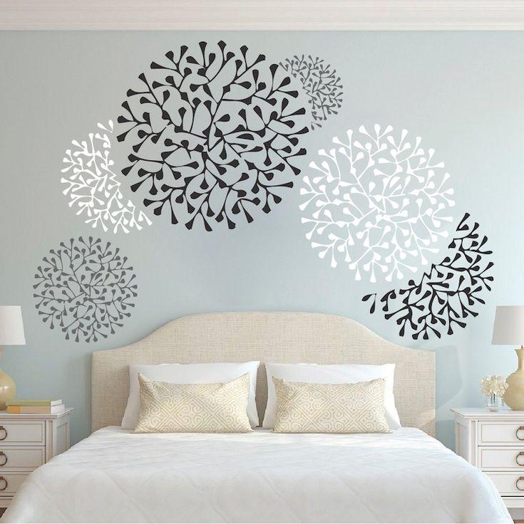 Decalcomanie per accenti belle da parete – Stencil da parete ...