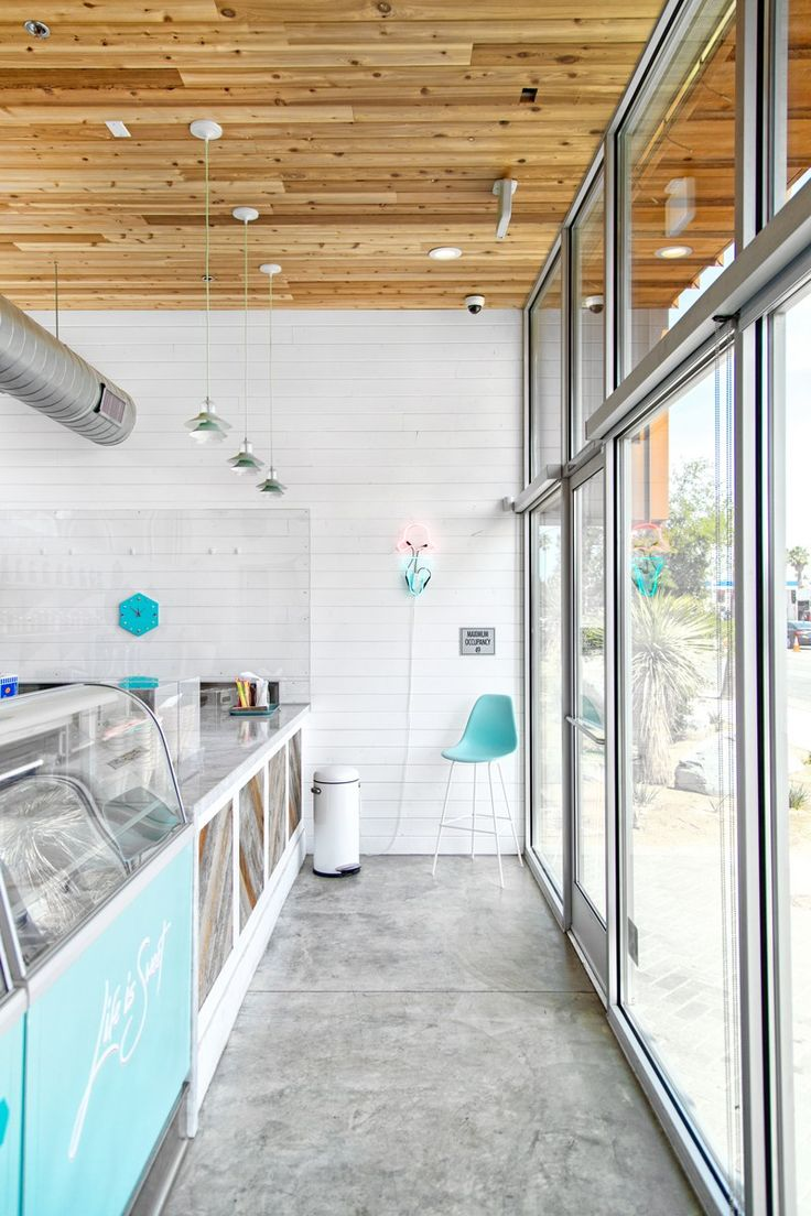 PALM SPRINGS EATS // ICE CREAM & SHOP(PE) AT ARRIVE HOTEL | Palm Springs Style Magazine