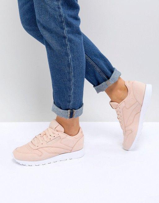 In Reebok Classic Sneakers Leather Nubuck Pink wxZFHqxR4