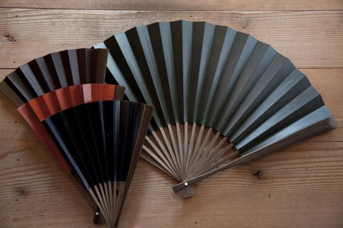 Japanese paper fan -sensu-
