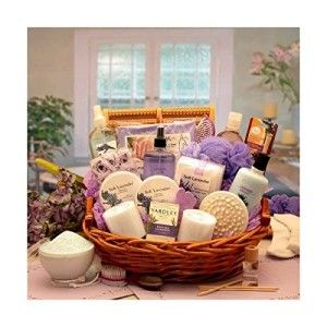 Easter Basket Girlfriend Calming Lavender Bath and Body Gift Basket Send her an indulgent spa experience right at home with this exquisite spa gift basket featuring all Lavender products. http://awsomegadgetsandtoysforgirlsandboys.com/easter-basket-girlfriend/ Easter Basket Girlfriend Calming Lavender Bath and Body Gift Basket