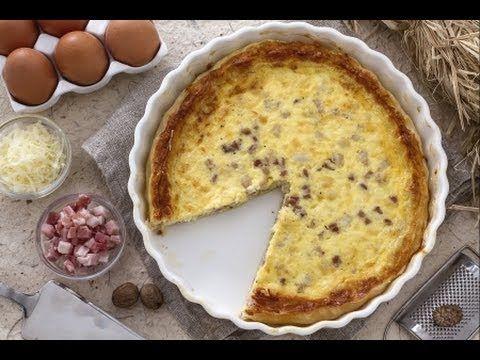 Quiche Lorraine, la ricetta di Giallozafferano - YouTube