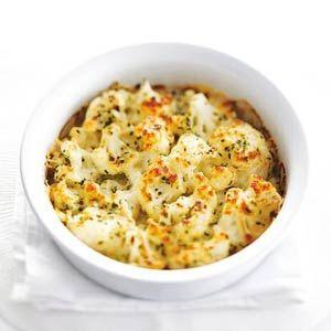 Recept - Bloemkool al forno met mozzarella - Allerhande