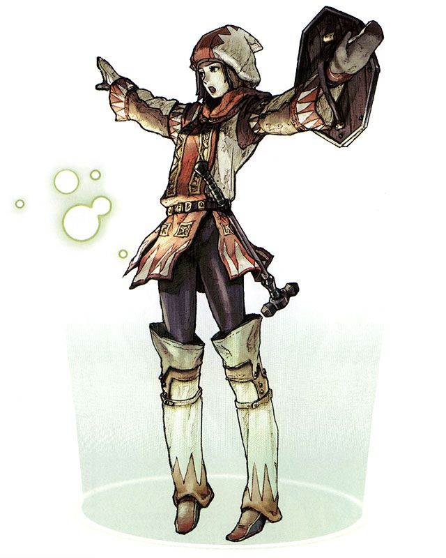 Hume White Mage - Characters & Art - Final Fantasy XI