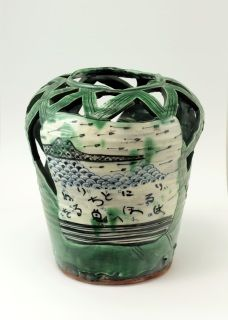 Aaron Scythe is a New Zealand ceramic artist who worked and studyed in Japan and has come back to Aotearoa to create wonderful designs with each piece an artwork in itself. You will not find perfectly matching sets, but you will find your unique mug! Relative Size: