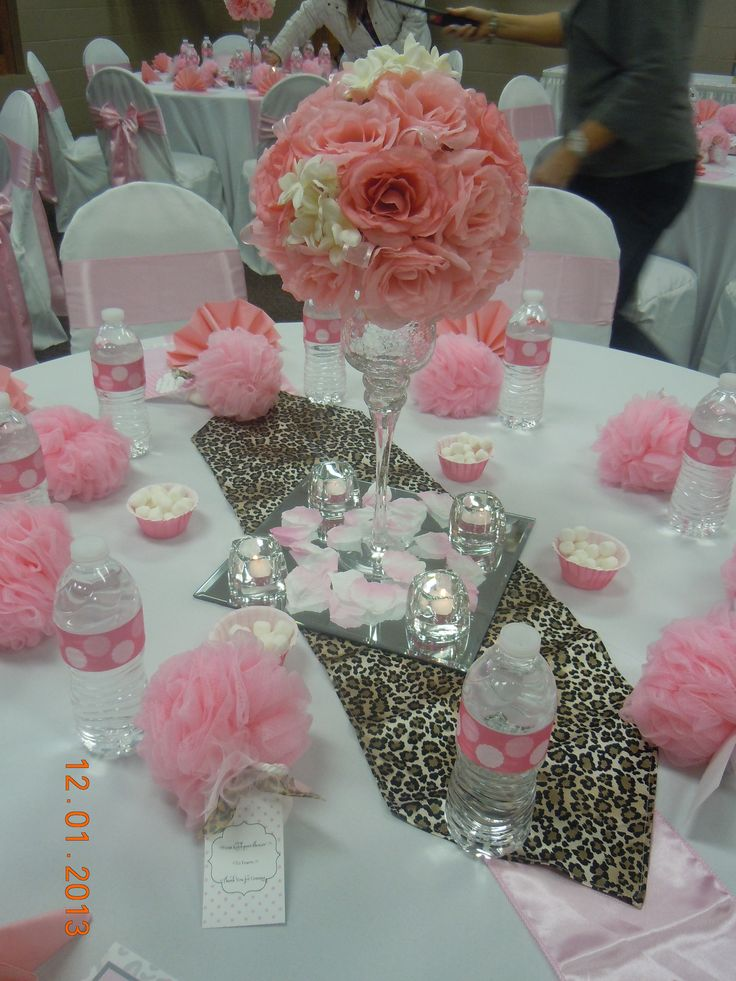 Baby Shower Centerpieces!