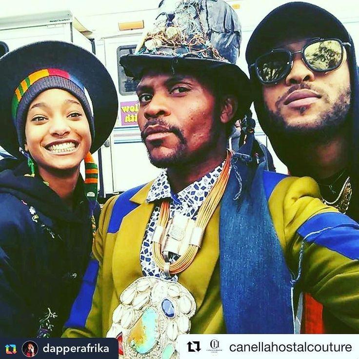 SPOTTED in Los Angeles!! Repost from @dapperafrika:  Esmod Dubai Alumni @canellahostalcouture designs worn by  @willowsmith  @dapperafrika @rojamesxix  THE DAPPERAFRIKA EXPERIENCE  Collection available @polette.dubai @citywalkdubai - #TeamDapperAfrika  #dapperafrika #afrika #nycstyle  #brooklyn #models #nyfw #editorial  #lafashion  #wardrobe  #glam #instabeauty  #losangeles  #londonfashion #individual #meekroosevelt #voguemagazine #meditation #Oprah #highfashion  #newyorkstateofmind #Africa…