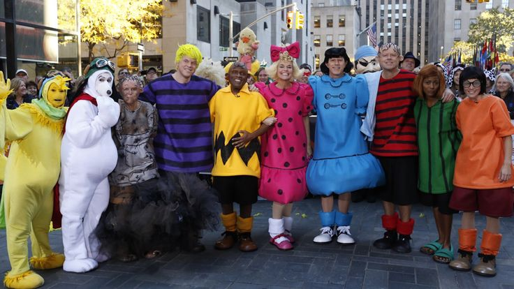 "Bummer!! Usually I ""love"" having a good laugh every Halloween watching the Today Show news crew get dressed up. Unfortunately, this year was so lame and predictable. :( The TODAY gang dressed as 'Peanuts' for Halloween."