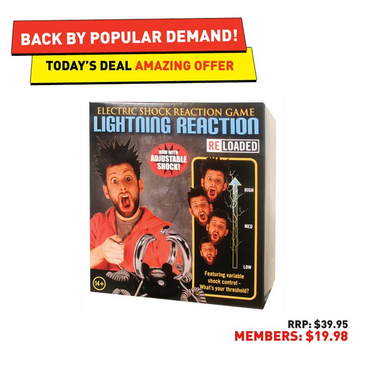 #50deals Day 48 - 4th July. Ah, the game where your reflexes (or lack of) could cost you a hilarious zap on the finger.