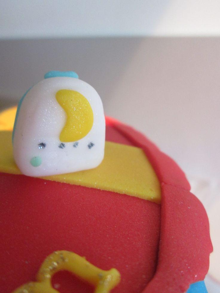 La lumière du dodo hi hi!! Détail gâteau #Anniversaire
