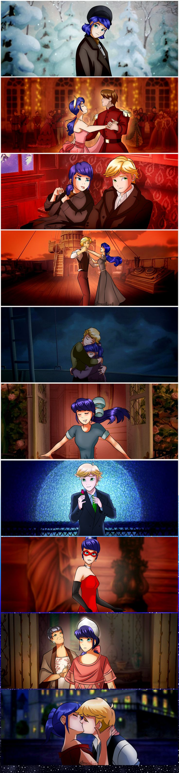 Anastasia AU! (by gloriamelmed) (Miraculous Ladybug, Marinette, Adrien, Crossover)