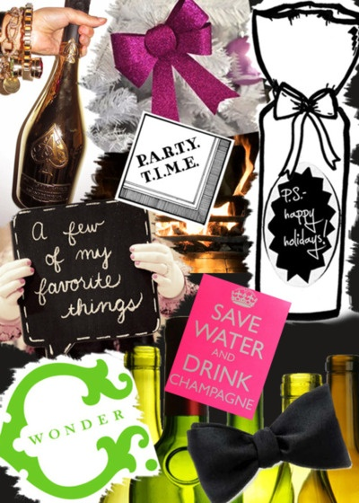 save water and drink champagne! <3 love it!