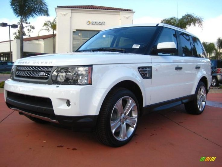2014 Range Rover Supercharged White | Fuji White 2011 Land Rover Range Rover Sport Supercharged with Ivory ...