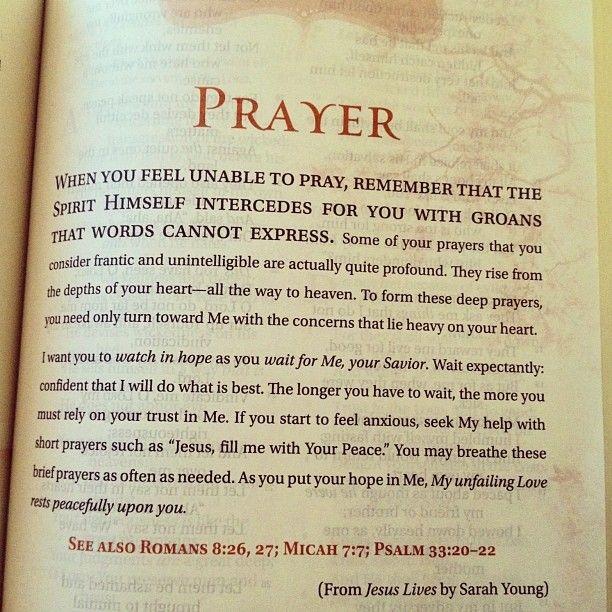Christian Prayer Quotes. QuotesGram