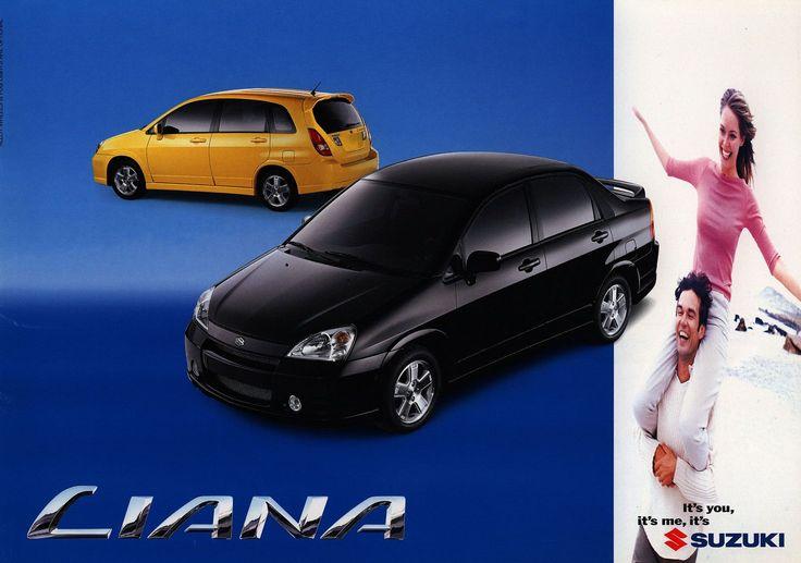 Suzuki Liana; 2000  (Australia)   auto car brochure   by worldtravellib World Travel library - The Collection