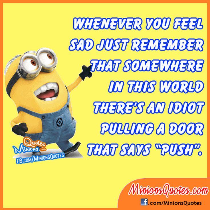 Random Comical Minions quotes (11:51:12 AM, Thursday 18 ...