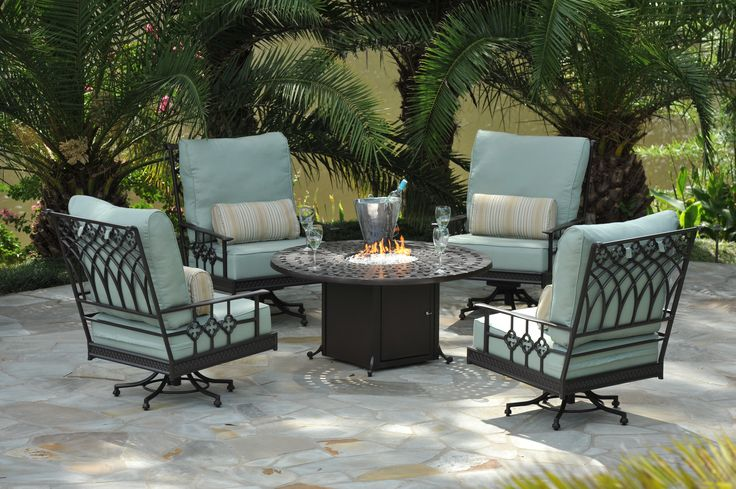 Provence swivel lounge collection from Windham Castings