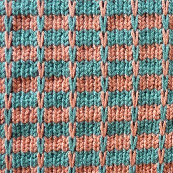Stitch Pattern KIN 820 Multi Slip | Multi Color Slip | Knit it Now