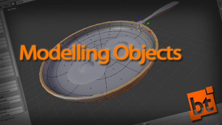 how to create an open object blender