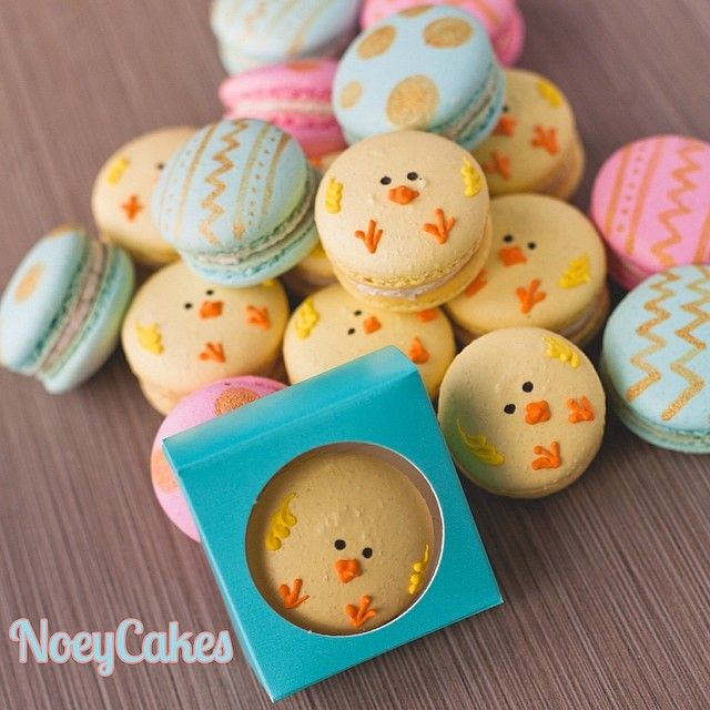 """""""We LOVE how these amazing boxes from @BRPBoxShop showcase our new Easter Macarons!"""" - NoeyCakes"""