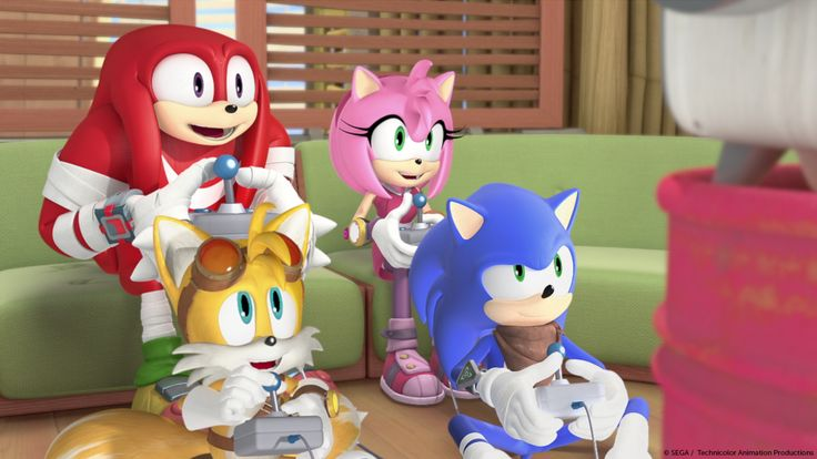 """Team Sonic gains an unlikely new ally when Eggman's plans once again go wrong. But is it friend or fiend…bot? Catch Sonic Boom tomorrow at 6pm on Boomerang."""