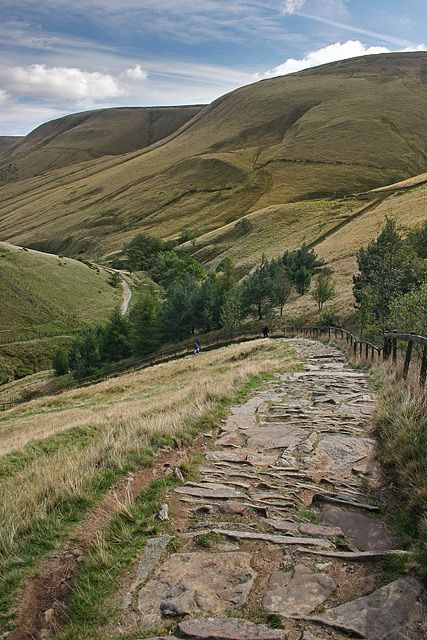 Jacob's Ladder, Derbyshire, England - this was on a cyclocross route too, started in Glossop - cracking views
