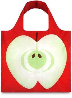 Shoppingbag Appel