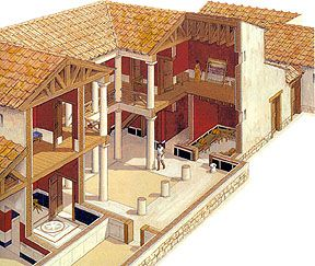 Ancient Greek Houses | ... are some websites to get you started in your ancient homes research