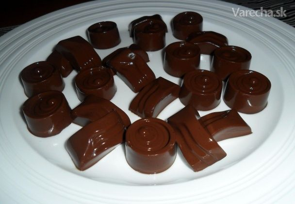 Kávovo - čokoládové želé