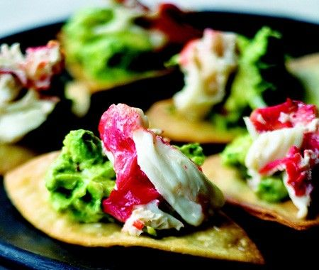Tortilla Chips with Crab & Avocado Dip Recipe // from Curtis Stone's ...